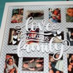 Create a Display For Your Memories Using a Shadow Box and Your Cricut